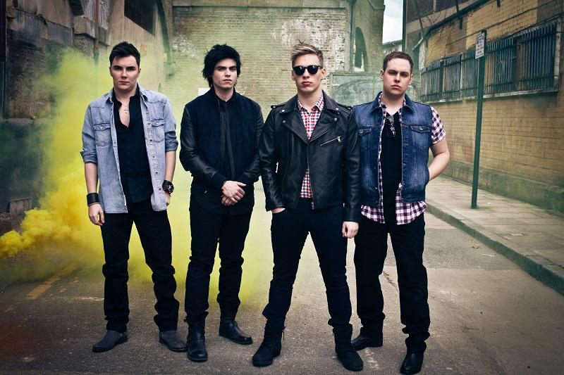 [l-r] Dan, Luke, Tom and Nicky