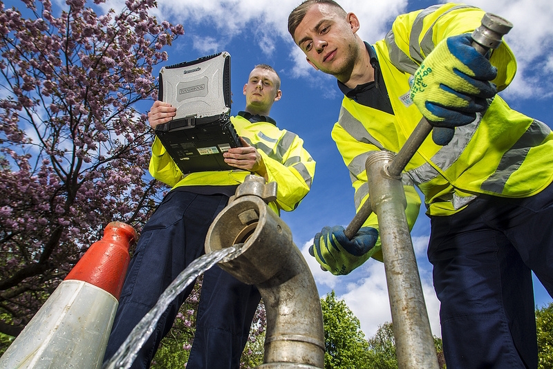 scottish water apprentices
