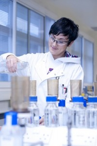 scottish water woman in labs