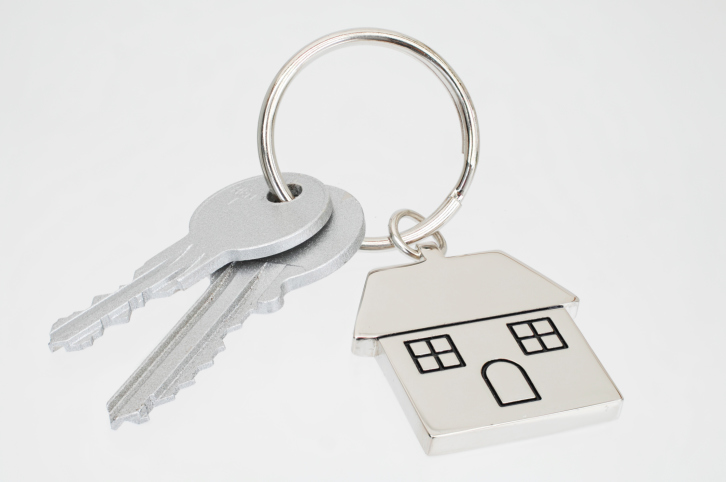 House Key with Key Chain